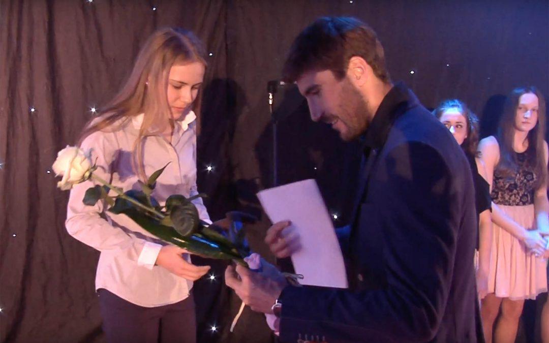 Kralupy TV: Kralupské sportovce dekoroval olympijský vítěz (9.4. 2017)